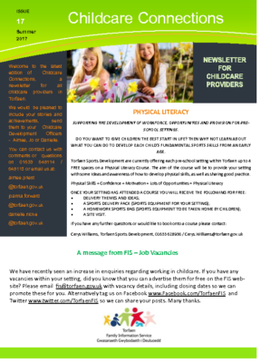 Childcare connections issue 17 Summer 2017