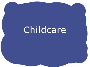 Childcare Button
