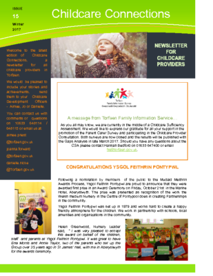 Childcare connections issue 15 Winter